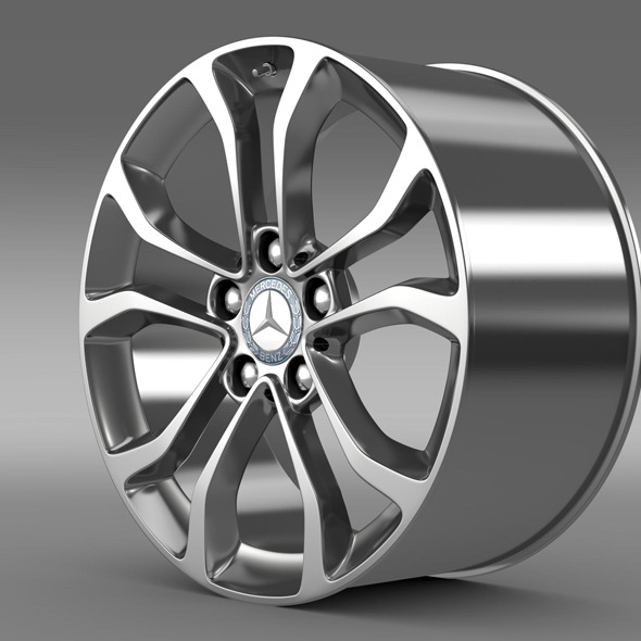 Mercedes Benz C 220  rim - 3DOcean Item for Sale