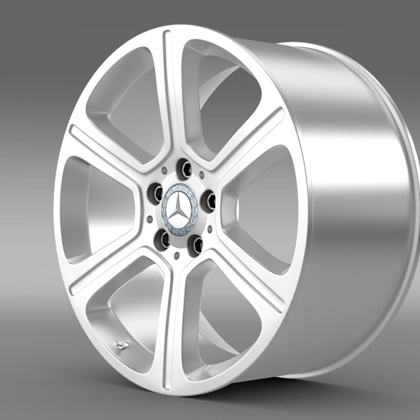 Mercedes Benz C 300 Exclusive line  rim - 3DOcean Item for Sale