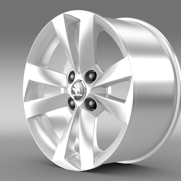 Skoda Sitigo  rim - 3DOcean Item for Sale