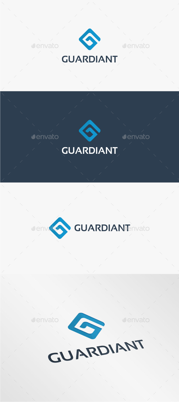 Guardiant Letter G - Logo Template - Letters Logo Templates