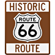Historic Route 66 Sign - GraphicRiver Item for Sale