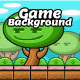 Fancy Forest Game Background with Game Obstacles