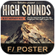 High Sounds Flyer Poster