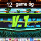 12 game backgrounds-v.1 - GraphicRiver Item for Sale