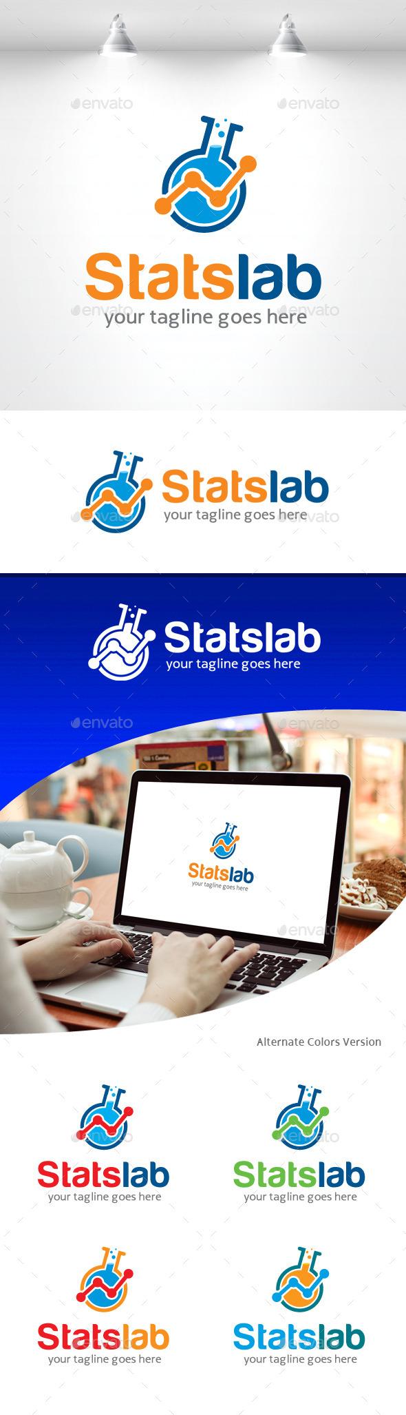 Stats Lab Logo - Objects Logo Templates