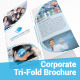 Corporate Tri-Fold Brochure Template - GraphicRiver Item for Sale