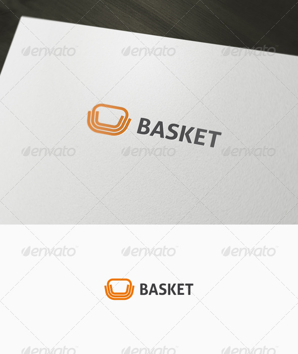 Abstract Basket Logo - Abstract Logo Templates