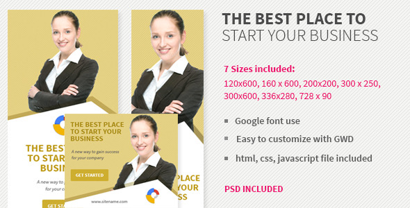Business- HTML5 AD Template v3 - CodeCanyon Item for Sale
