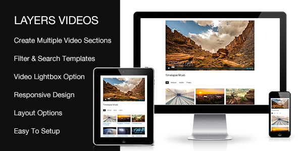 Video Sortable Extension For Layers Builder - CodeCanyon Item for Sale
