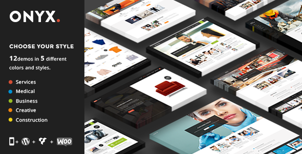 Onyx – A Powerful Multi-Concept Business Theme