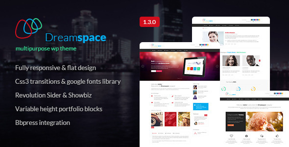Dreamspace Responsive WordPress Theme