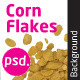 Corn Flakes Isolated Backround - GraphicRiver Item for Sale