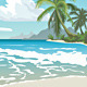 Tropical Beach - GraphicRiver Item for Sale