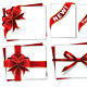 Set of Red Gift Bows with Ribbons - GraphicRiver Item for Sale