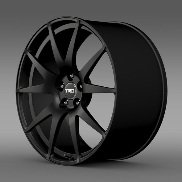 Toyota GT 86 TRD rim - 3DOcean Item for Sale