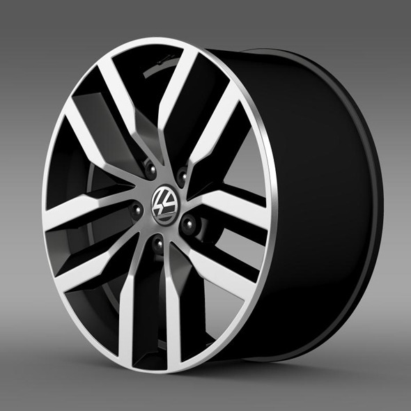 Volkswagen Golf S rim - 3DOcean Item for Sale