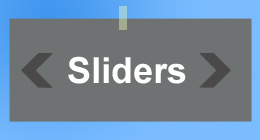 Sliders for featured content or images