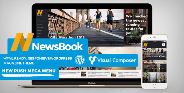 NewsBook –  Magazine, Blog & News Theme