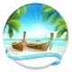 Tropical Island - GraphicRiver Item for Sale