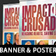 Gospel Crusade Banner Plus Poster Template - GraphicRiver Item for Sale