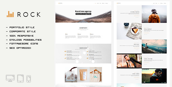 ROCKFOLIO - Portfolio & Agency HTML Template - Portfolio Creative