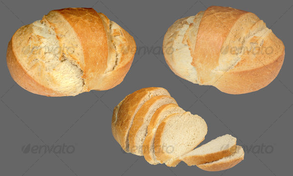 Bread - Food & Drink Isolated Objects