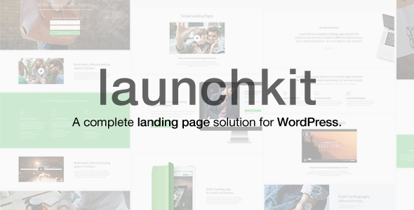Launchkit Landing Page & Marketing WordPress Theme