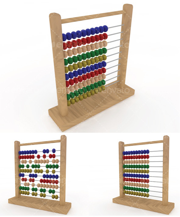 Abacus - 3DOcean Item for Sale