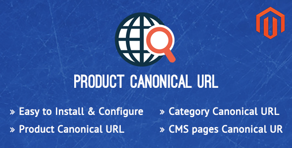 Canonical URL Magento Extension - CodeCanyon Item for Sale