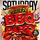 Flyer BBQ Party Konnekt - GraphicRiver Item for Sale