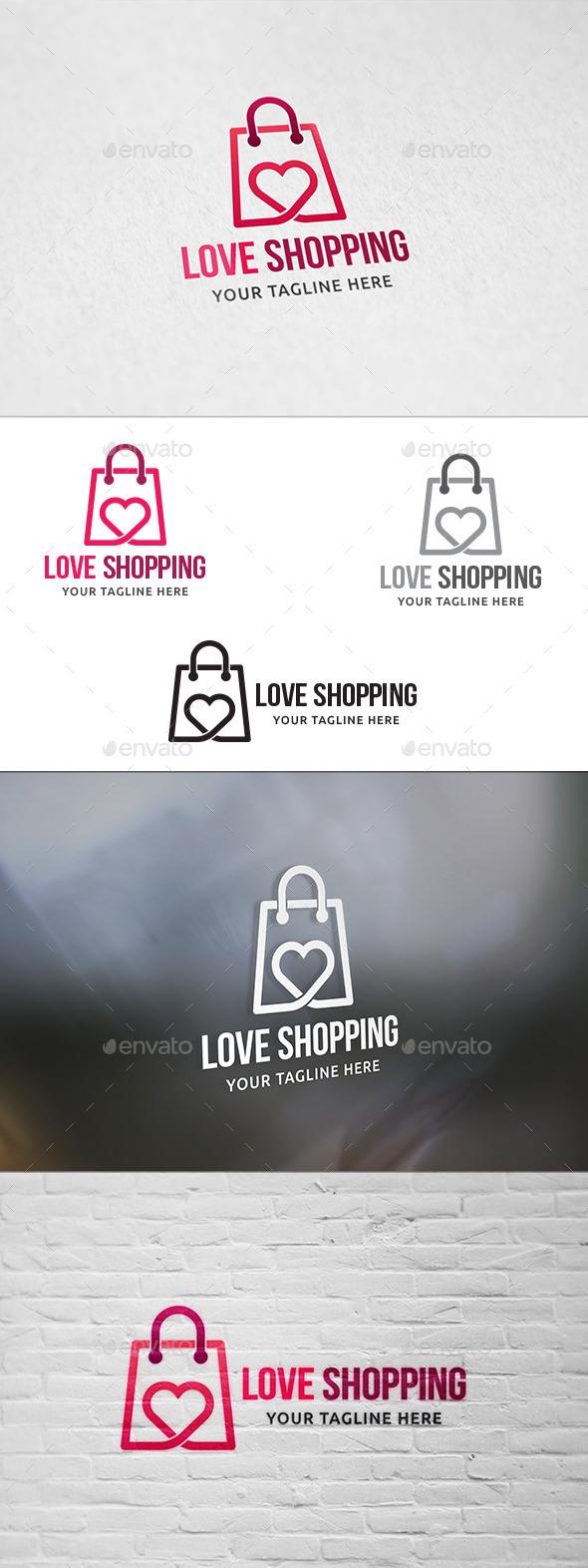 Love Shopping - Logo Template