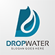 Drop Water - Letter D Logo - GraphicRiver Item for Sale