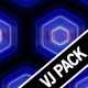 3 Hexagon Textures Vj Loops Pack - VideoHive Item for Sale