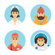 Flat Vector Persons Avatars Concepts - GraphicRiver Item for Sale