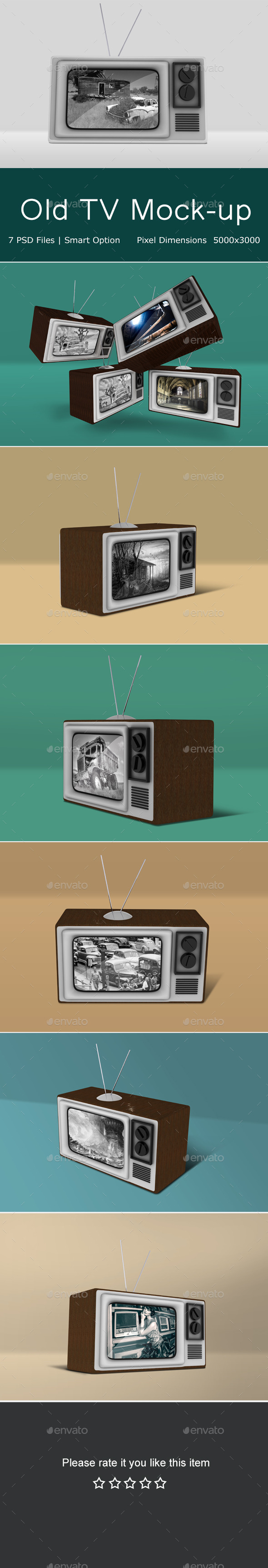 Old Tv Mock Up - TV Displays