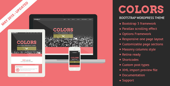 Colors – Bootstrap WordPress Theme