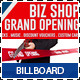 Agency & Shop Grand Opening Signage Billboard - GraphicRiver Item for Sale