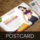Fitness Weight Loss Postcard InDesign Template  - GraphicRiver Item for Sale