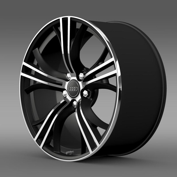 Audi R8 Exclusive rim - 3DOcean Item for Sale