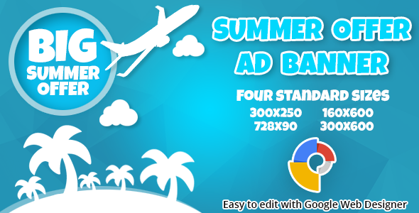 Summer Offer Ad Banner - CodeCanyon Item for Sale