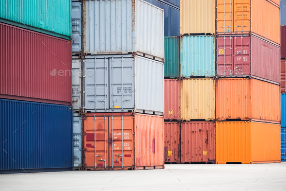 container depot - Stock Photo - Images