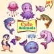 Set of Sea Animals - GraphicRiver Item for Sale