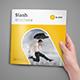 Slash Square Brochure - GraphicRiver Item for Sale