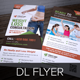 Fitness Weight Loss DL Flyer InDesign Template  - GraphicRiver Item for Sale