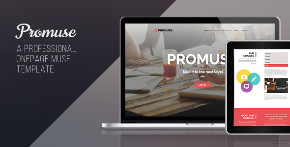 Promuse – One Page Muse Template