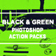 Black and Green Photoshop Action - GraphicRiver Item for Sale