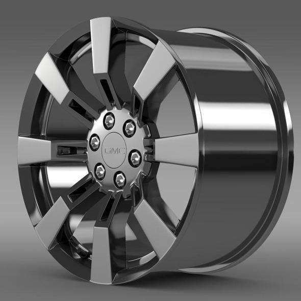 GMC Denali Hybrid rim - 3DOcean Item for Sale