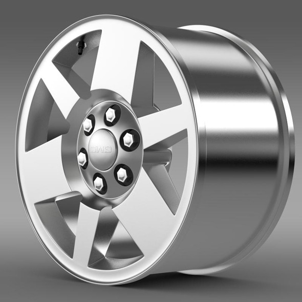 GMC Yukon XFE rim - 3DOcean Item for Sale