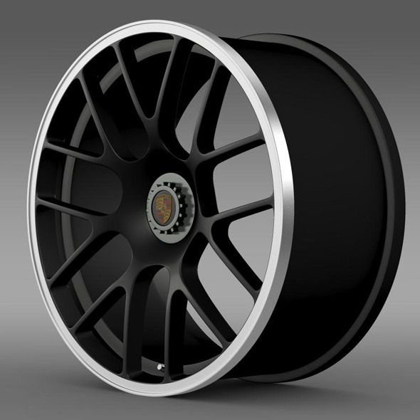 Porsche 911 Carerra GTS rim - 3DOcean Item for Sale