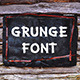 Grunge Letters and Numbers - GraphicRiver Item for Sale